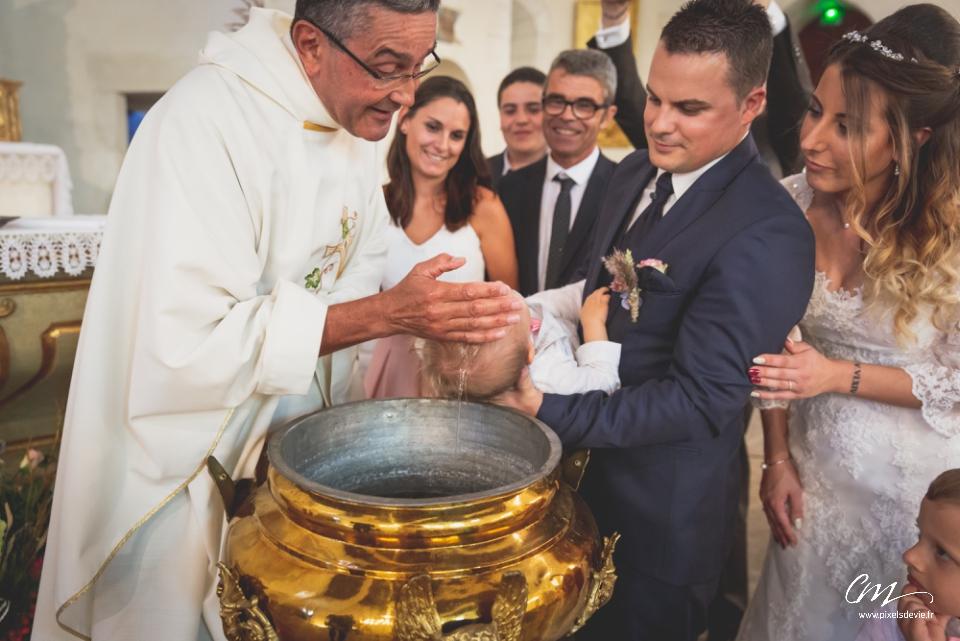 Reportage Baptême